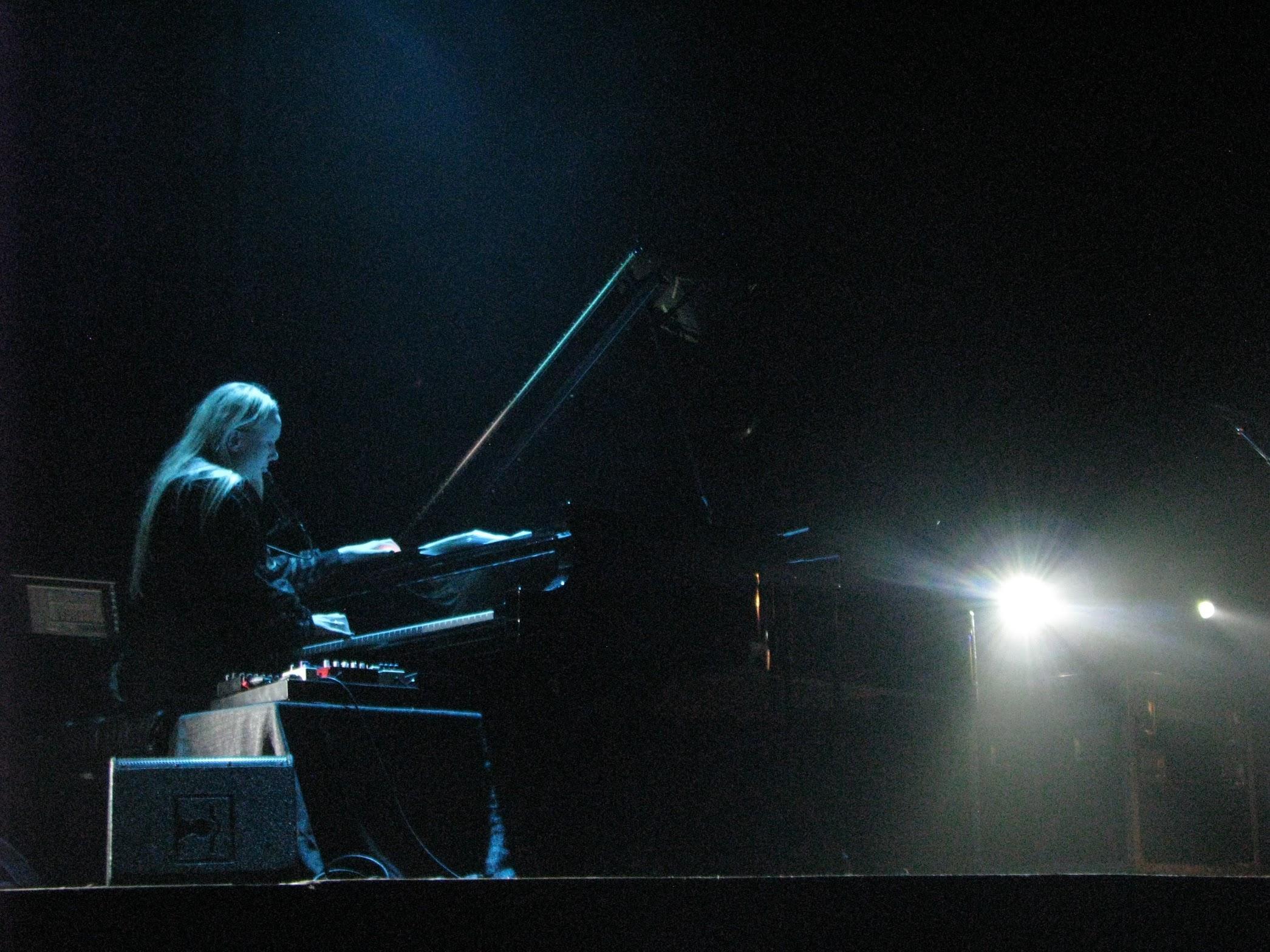 Susanna on piano