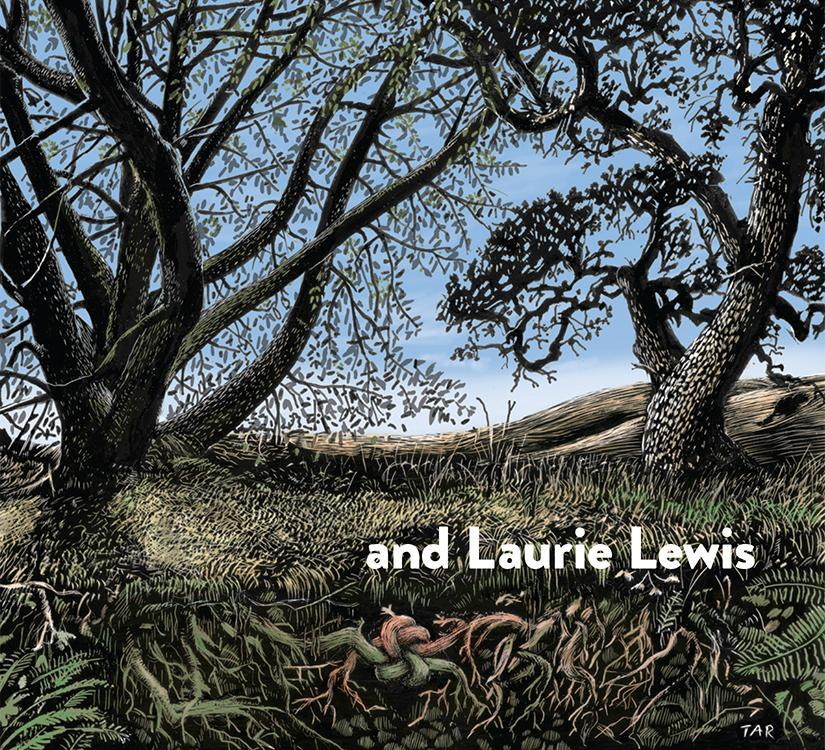 'and Laurie Lewis' cover art