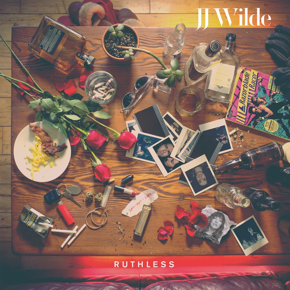 'Ruthless' cover art